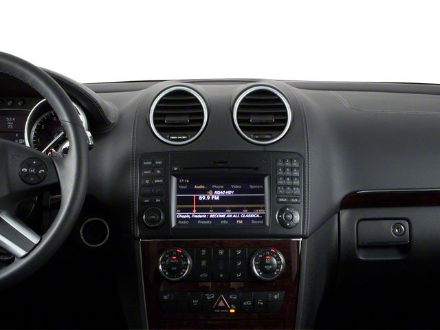 2011 Mercedes-Benz GL-Class Prices and Values Utility 4D GL350 BlueTEC 4WD center dashboard