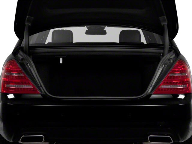 2011 Mercedes-Benz S-Class Pictures S-Class Sedan 4D S600 photos open trunk