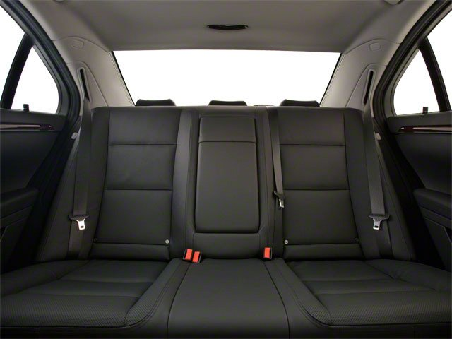 2011 Mercedes-Benz S-Class Prices and Values Sedan 4D S63 AMG backseat interior