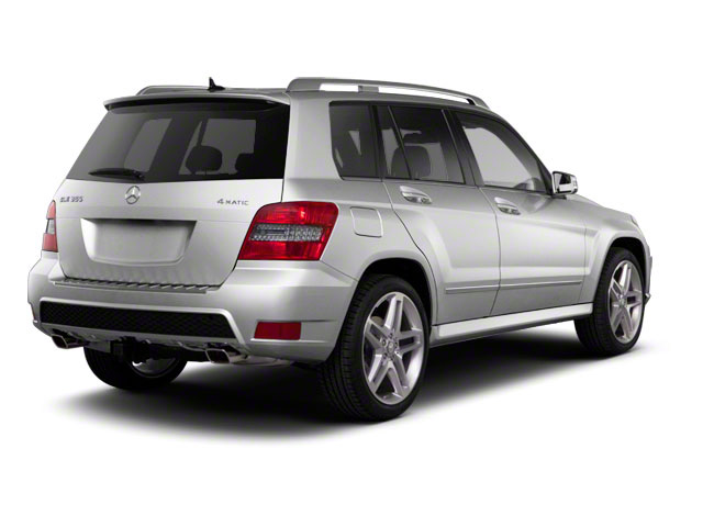 2011 Mercedes-Benz GLK-Class Prices and Values Utility 4D GLK350 2WD side rear view