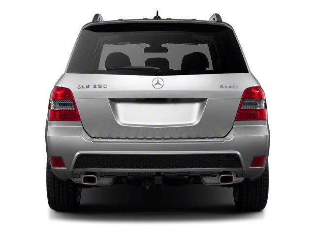 2011 Mercedes-Benz GLK-Class Prices and Values Utility 4D GLK350 2WD rear view