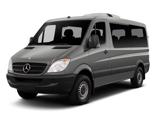 2011 Mercedes-Benz Sprinter Passenger Vans Prices and Values Passenger Van High Roof side front view