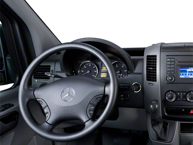 2011 Mercedes-Benz Sprinter Passenger Vans Prices and Values Passenger Van driver's dashboard