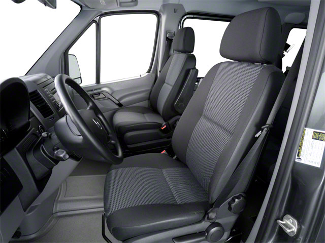 2011 Mercedes-Benz Sprinter Passenger Vans Prices and Values Passenger Van front seat interior