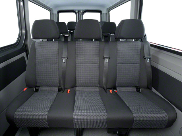 2011 Mercedes-Benz Sprinter Passenger Vans Prices and Values Passenger Van backseat interior