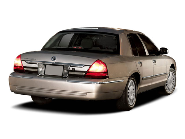 2011 Mercury Grand Marquis Pictures Grand Marquis Sedan 4D LS photos side rear view