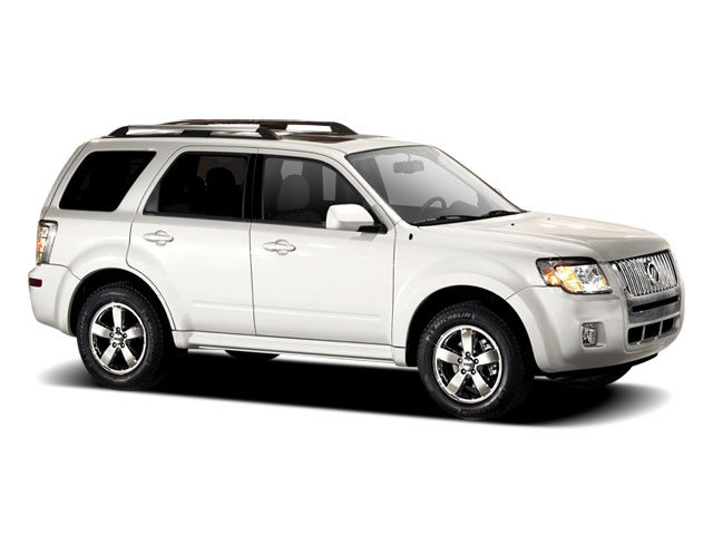 2011 Mercury Mariner Prices and Values Utility 4D Premier 4WD side front view