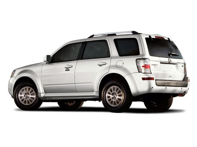 2011 Mercury Mariner Prices and Values Utility 4D Premier 4WD side rear view