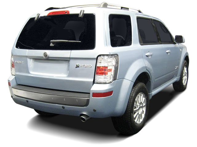 2011 Mercury Mariner Prices and Values Utility 4D Hybrid 4WD (4 Cyl) side rear view