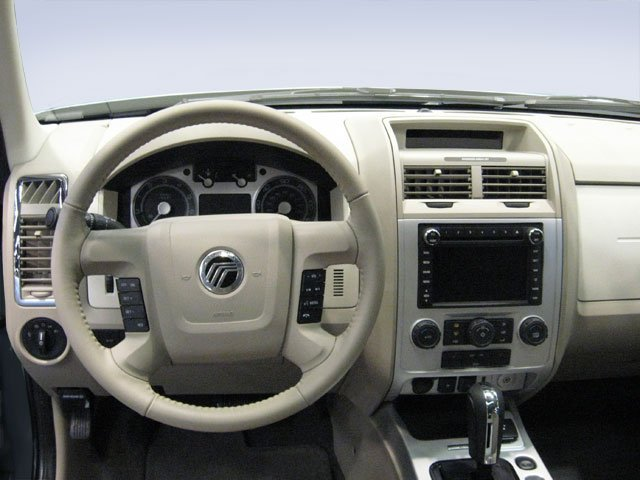 2011 Mercury Mariner Prices and Values Utility 4D Hybrid 4WD (4 Cyl) driver's dashboard