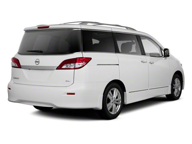 2011 Nissan Quest Prices and Values Van 3.5 S side rear view
