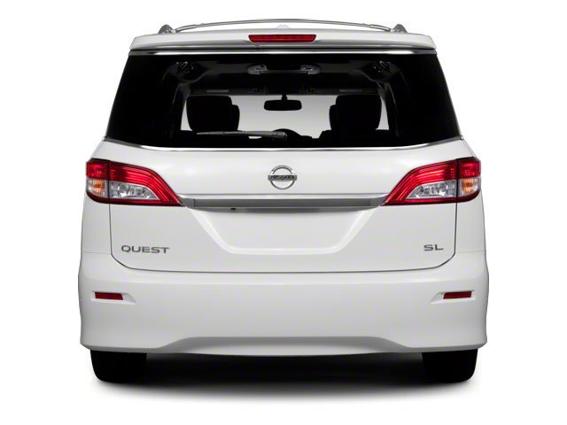2011 Nissan Quest Prices and Values Van 3.5 S rear view