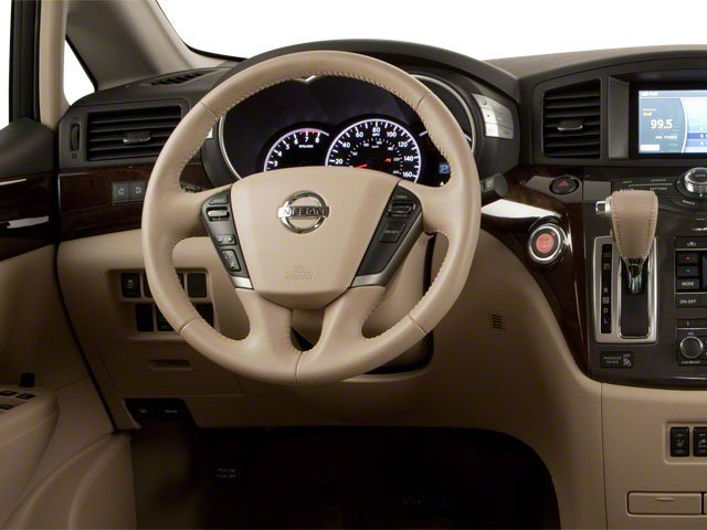 2011 Nissan Quest Prices and Values Van 3.5 S driver's dashboard