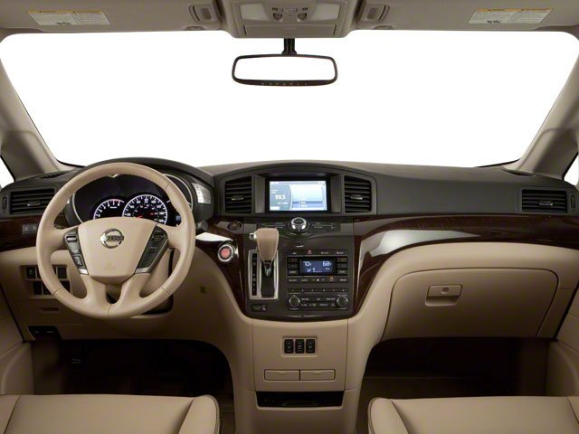 2011 Nissan Quest Prices and Values Van 3.5 S full dashboard