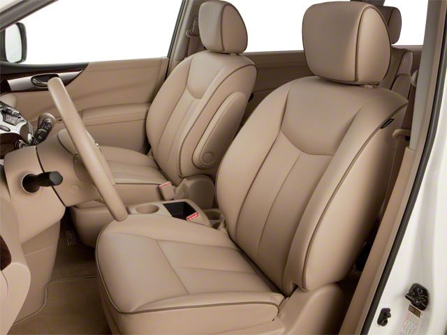 2011 Nissan Quest Prices and Values Van 3.5 S front seat interior