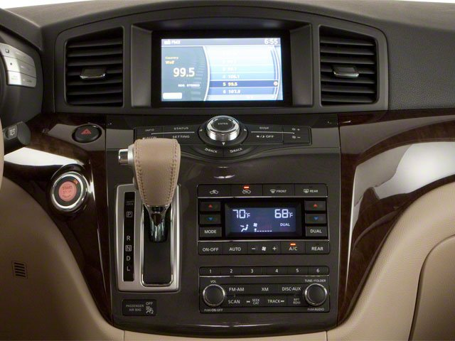 2011 Nissan Quest Prices and Values Van 3.5 S center console