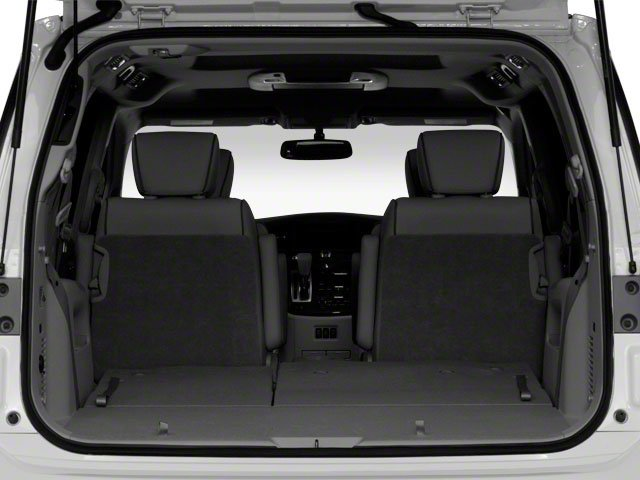 2011 Nissan Quest Pictures Quest Van 3.5 SL photos open trunk