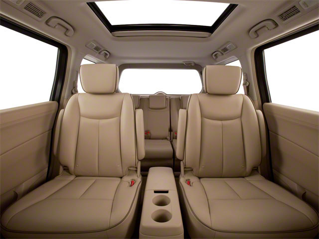 2011 Nissan Quest Prices and Values Van 3.5 S backseat interior