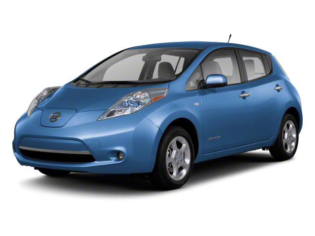2011 Nissan LEAF Prices and Values Hatchback 5D SL side front view