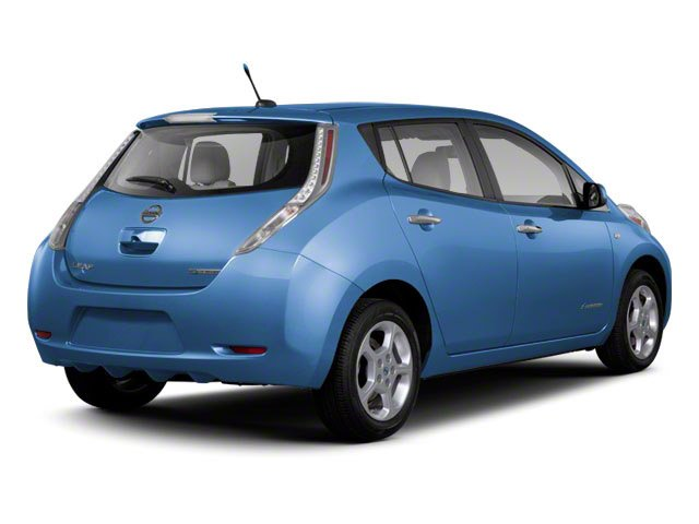2011 Nissan LEAF Prices and Values Hatchback 5D SL side rear view