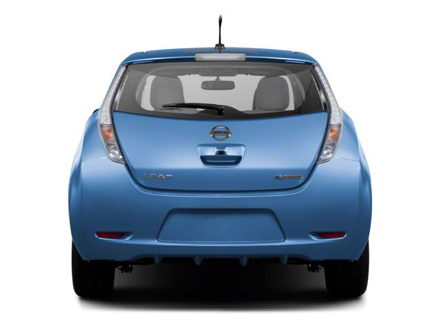 2011 Nissan LEAF Prices and Values Hatchback 5D SL rear view