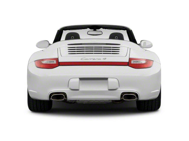 2011 Porsche 911 Prices and Values Cabriolet 2D S rear view
