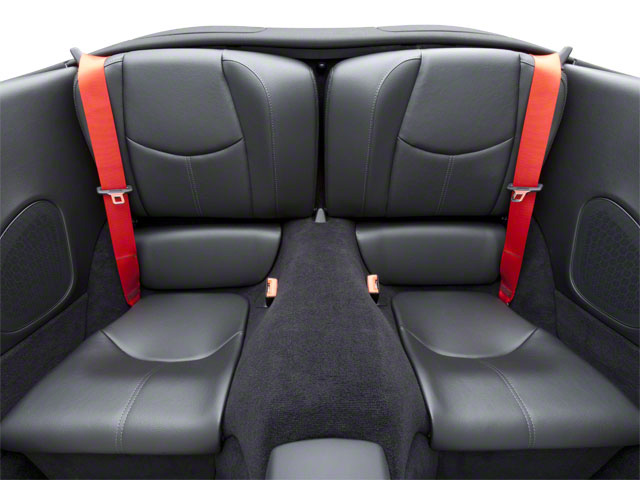 2011 Porsche 911 Prices and Values Cabriolet 2D S backseat interior