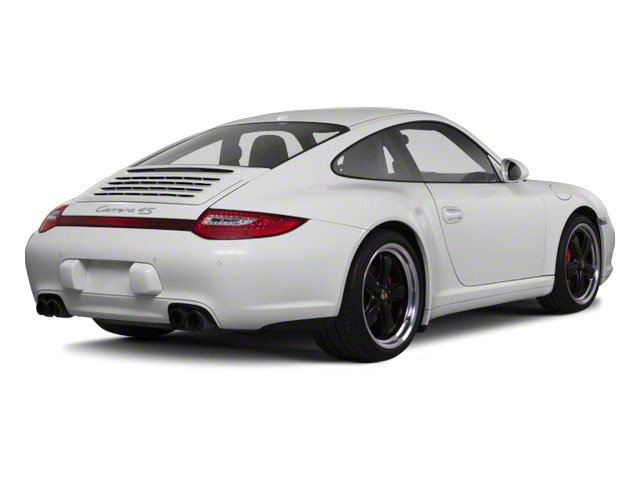 2011 Porsche 911 Prices and Values Coupe 2D Turbo S AWD side rear view