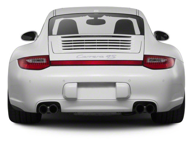 2011 Porsche 911 Prices and Values Coupe 2D Turbo S AWD rear view