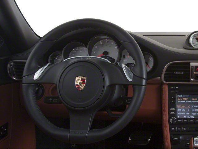 2011 Porsche 911 Prices and Values Coupe 2D Turbo S AWD driver's dashboard