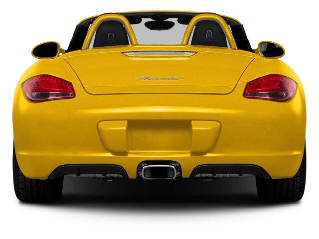 2011 Porsche Boxster Prices and Values Roadster 2D rear view