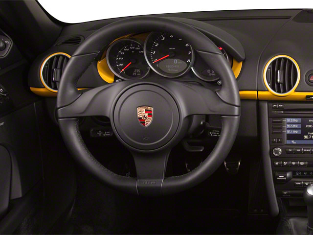 2011 Porsche Boxster Prices and Values Roadster 2D driver's dashboard