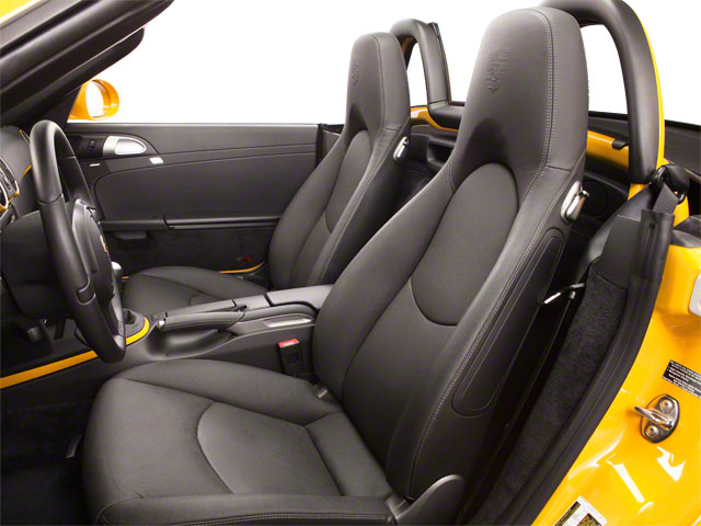 2011 Porsche Boxster Prices and Values Roadster 2D front seat interior