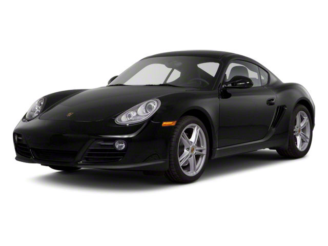 2011 Porsche Cayman Prices and Values Coupe 2D S side front view