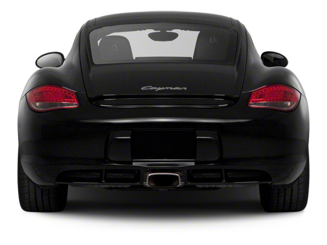 2011 Porsche Cayman Prices and Values Coupe 2D S rear view