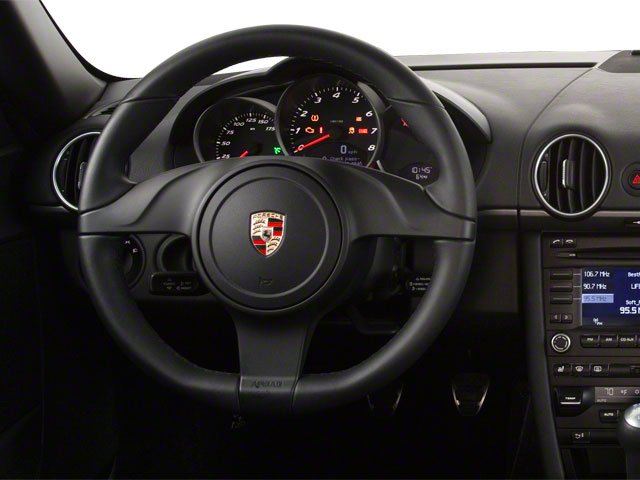 2011 Porsche Cayman Prices and Values Coupe 2D S driver's dashboard