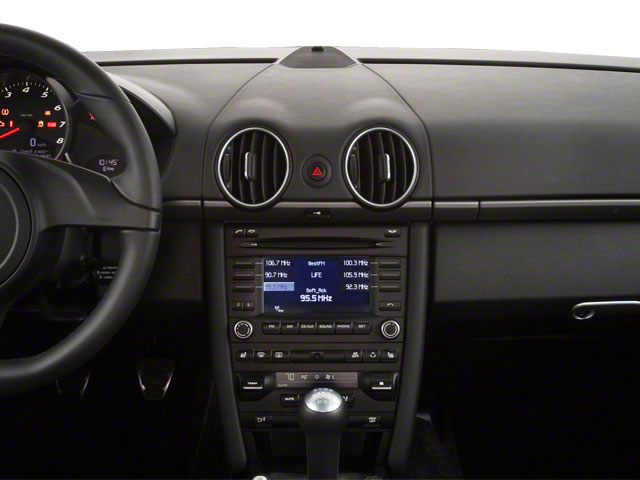 2011 Porsche Cayman Prices and Values Coupe 2D S center dashboard
