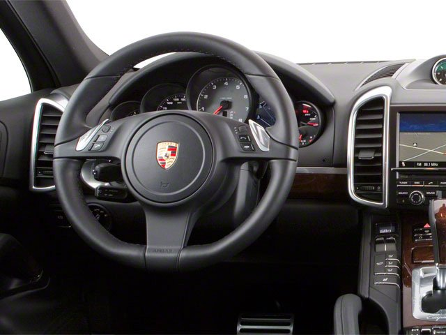 2011 Porsche Cayenne Prices and Values Utility 4D Turbo AWD (V8) driver's dashboard