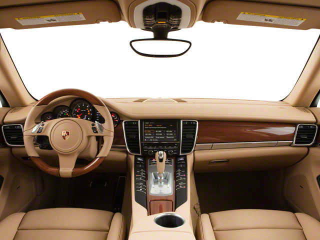 2011 Porsche Panamera Pictures Panamera Hatchback 4D photos full dashboard
