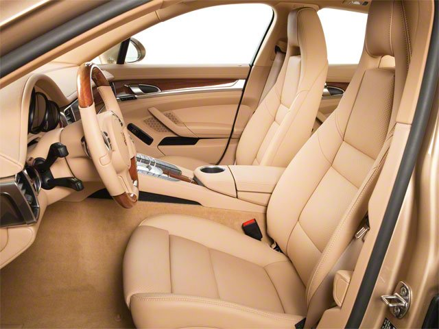 2011 Porsche Panamera Prices and Values Hatchback 4D front seat interior