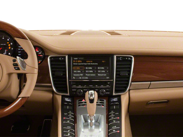 2011 Porsche Panamera Prices and Values Hatchback 4D center dashboard