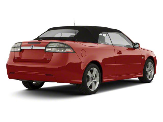 2011 Saab 9-3 Prices and Values Convertible 2D Aero Turbo side rear view