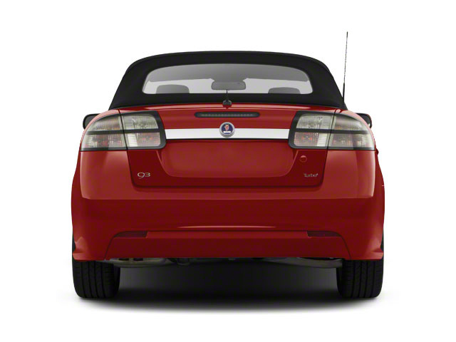 2011 Saab 9-3 Prices and Values Convertible 2D Aero Turbo rear view