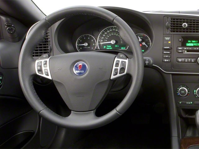 2011 Saab 9-3 Prices and Values Convertible 2D Aero Turbo driver's dashboard