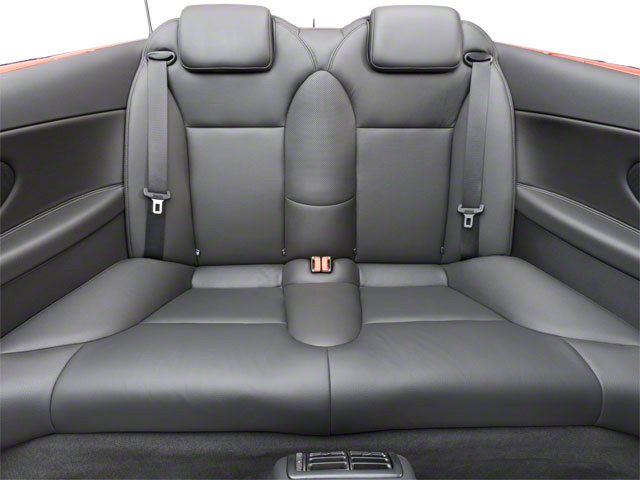 2011 Saab 9-3 Prices and Values Convertible 2D Aero Turbo backseat interior