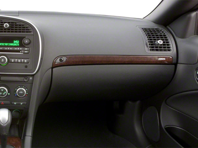 2011 Saab 9-3 Prices and Values Convertible 2D Aero Turbo passenger's dashboard