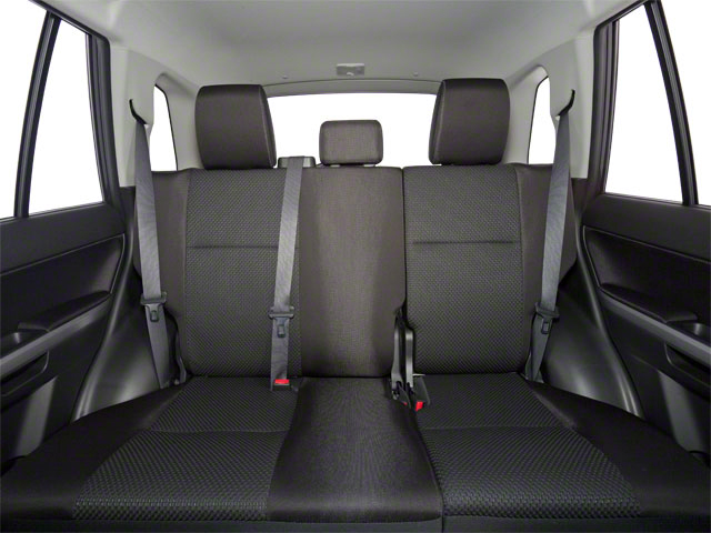 2011 Suzuki Grand Vitara Prices and Values Utility 4D Limited 4WD backseat interior
