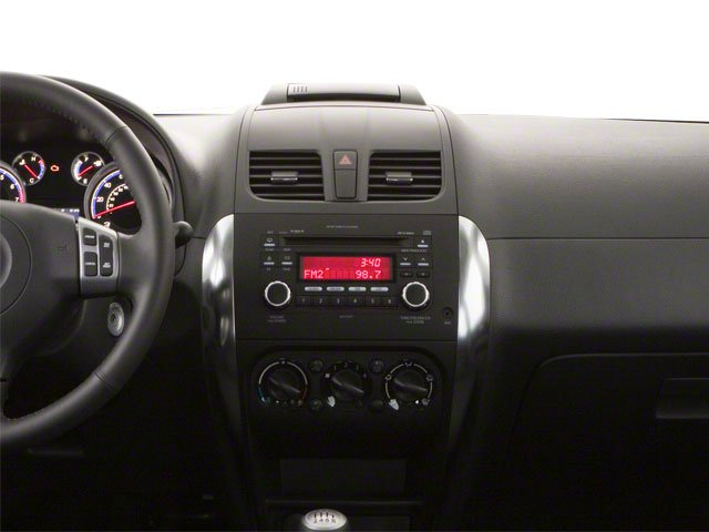2011 Suzuki SX4 Prices and Values Hatchback 5D center dashboard