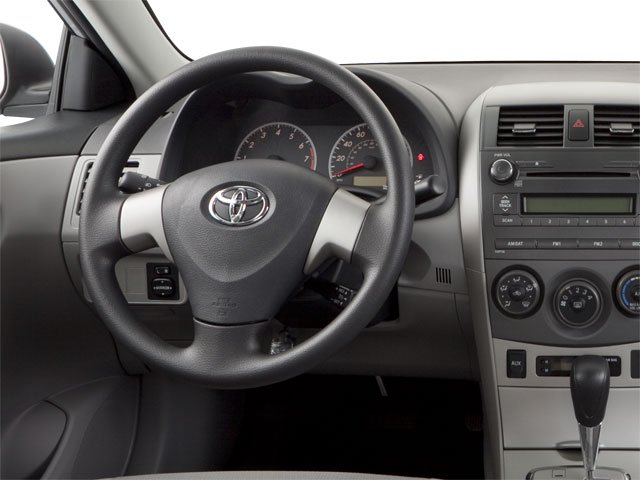 2011 Toyota Corolla Prices and Values Sedan 4D LE driver's dashboard