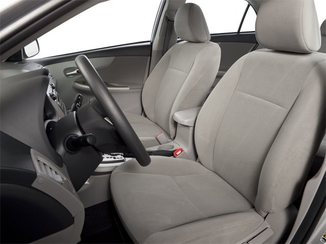 2011 Toyota Corolla Prices and Values Sedan 4D LE front seat interior